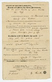 view Bill of sale for a 17 year old girl named Mary digital asset number 1