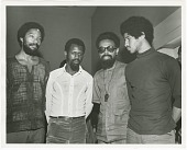 view Photograph of The Last Poets with Amiri Baraka digital asset number 1