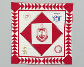 view Quilt with the Delta Sigma Theta logo digital asset number 1