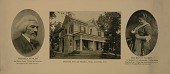 view Photographic souvenir of the Frederick Douglass Memorial Home in Anacostia, D.C. digital asset number 1