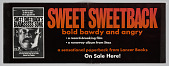 view Advertisement for paperback novel Sweet Sweetback's Baadasssss Song digital asset number 1