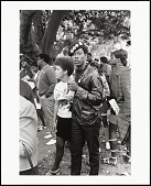 view <I>Black Panther couple listening, Free Huey Rally, De Fremery Park, Oakland, CA, No. 20</I> digital asset number 1