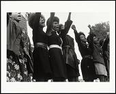 view <I>Black Panthers from Sacramento, Free Huey Rally, Bobby Hutton Memorial Park, Oakland, CA, No. 62</I> digital asset number 1