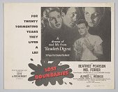 view Lobby card for Lost Boundaries digital asset number 1