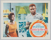 view Lobby card for A Raisin in the Sun with autograph of Sidney Poitier digital asset number 1