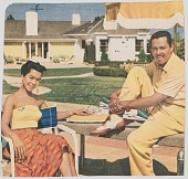view Signed clipping with image of Billy Eckstine and his wife, June Harris digital asset number 1