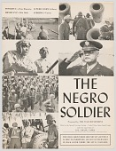 view Program for The Negro Soldier digital asset number 1