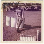 view Photograph of an American soldier in Vietnam digital asset number 1