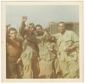 view Photograph of four American soldiers in Vietnam digital asset number 1