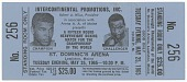 view Ticket for boxing match between Muhammad Ali and Sonny Liston digital asset number 1