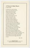 view <I>A Poem for Black Hearts</I> digital asset number 1