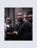 view Digital print of Dr. Martin Luther King, Jr at a Chicago Freedom Movement rally digital asset number 1
