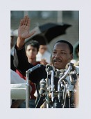 view Digital print of Dr. Martin Luther King, Jr. at Chicago Freedom Movement rally digital asset number 1