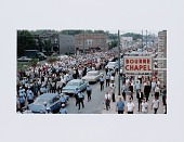 view Digital print of a Chicago Freedom Movement march down South Kedzie Avenue digital asset number 1