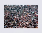 view Digital print of Chicago Freedom Movement rally crowd at Soldier Field digital asset number 1