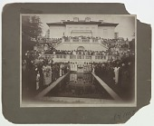 view Photograph of a convention of Madam C.J. Walker agents at Villa Lewaro digital asset number 1