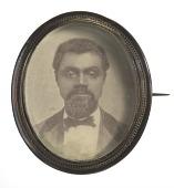 view Pinback button featuring a campaign portrait of Senator William B. Nash digital asset number 1