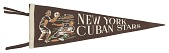 view Pennant for the New York Cuban Stars digital asset number 1