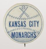 view Pinback button for the Kansas City Monarchs digital asset number 1