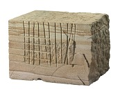 view Block of Aquia Creek sandstone removed from the East Front of US Capitol digital asset number 1
