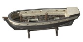 view Folk art model of a slave ship on stand digital asset number 1