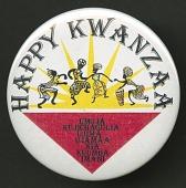 view Pinback button celebrating Kwanzaa digital asset number 1