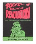 view <I>Riot .. or Black Revolution</I> digital asset number 1
