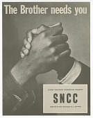 view Flyer promoting Student Nonviolent Coordinating Committee(SNCC) digital asset number 1
