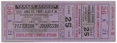 view Ticket to a boxing match between Floyd Patterson and Ingemar Johansson digital asset number 1