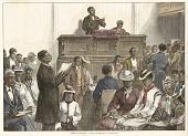 view <I>American Sketches: A Negro Congregation at Washington</I> digital asset number 1