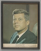 view Portrait print of John F. Kennedy from Mae's Millinery Shop digital asset number 1