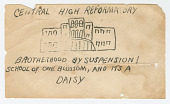 view Mimeograph sheet with segregationist language digital asset number 1