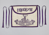 view Apron with IBPOEW iconography digital asset number 1