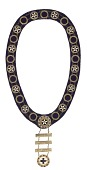 view Ceremonial IBPOEW collar received by Laura O. B. Frazier digital asset number 1