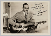 view Photograph of Jimmy Miller playing guitar digital asset number 1