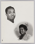 view Composite photograph of a man and Velma Middleton digital asset number 1