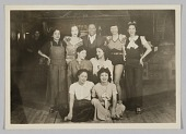 view Photograph of Leroy Broomfield and the Ubangi Club dancers digital asset number 1