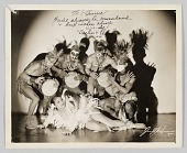 "view Photograph of Princess Orelia and Pedro with the ""Cuban Congo Dancers"" digital asset number 1"