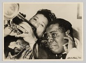 view Photograph of Velma Middleton and Louis Armstrong digital asset number 1