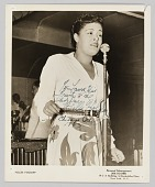 view Photograph of Billie Holiday digital asset number 1