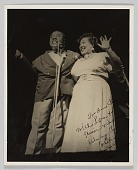 view Photograph of Louis Armstrong and Thelma Middleton digital asset number 1