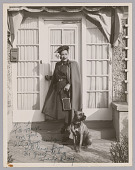 view Photograph of Billie Holiday and her dog Mister digital asset number 1