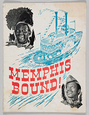 view Souvenir program for Memphis Bound! digital asset number 1