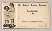 view Advertisement for the Cathrell Printing Company digital asset number 1