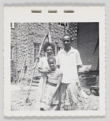 view Photographic print of Maxine Sullivan and her children digital asset number 1