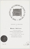 view Photocopy of a Certificate of Appreciation for Maxine Sullivan digital asset number 1