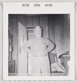 view Photographic print of Cliff Jackson standing with his arms akimbo digital asset number 1