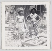 view Photographic print of Cliff Jackson and an unidentified man digital asset number 1