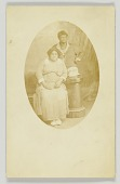 view Photographic postcard of two women unidentified women digital asset number 1