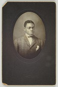 view Photographic print of an unidentified man digital asset number 1